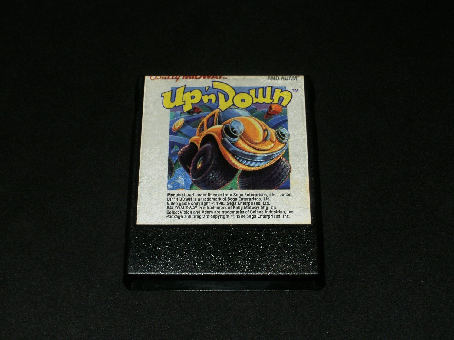Up N Down - Colecovision - Rare