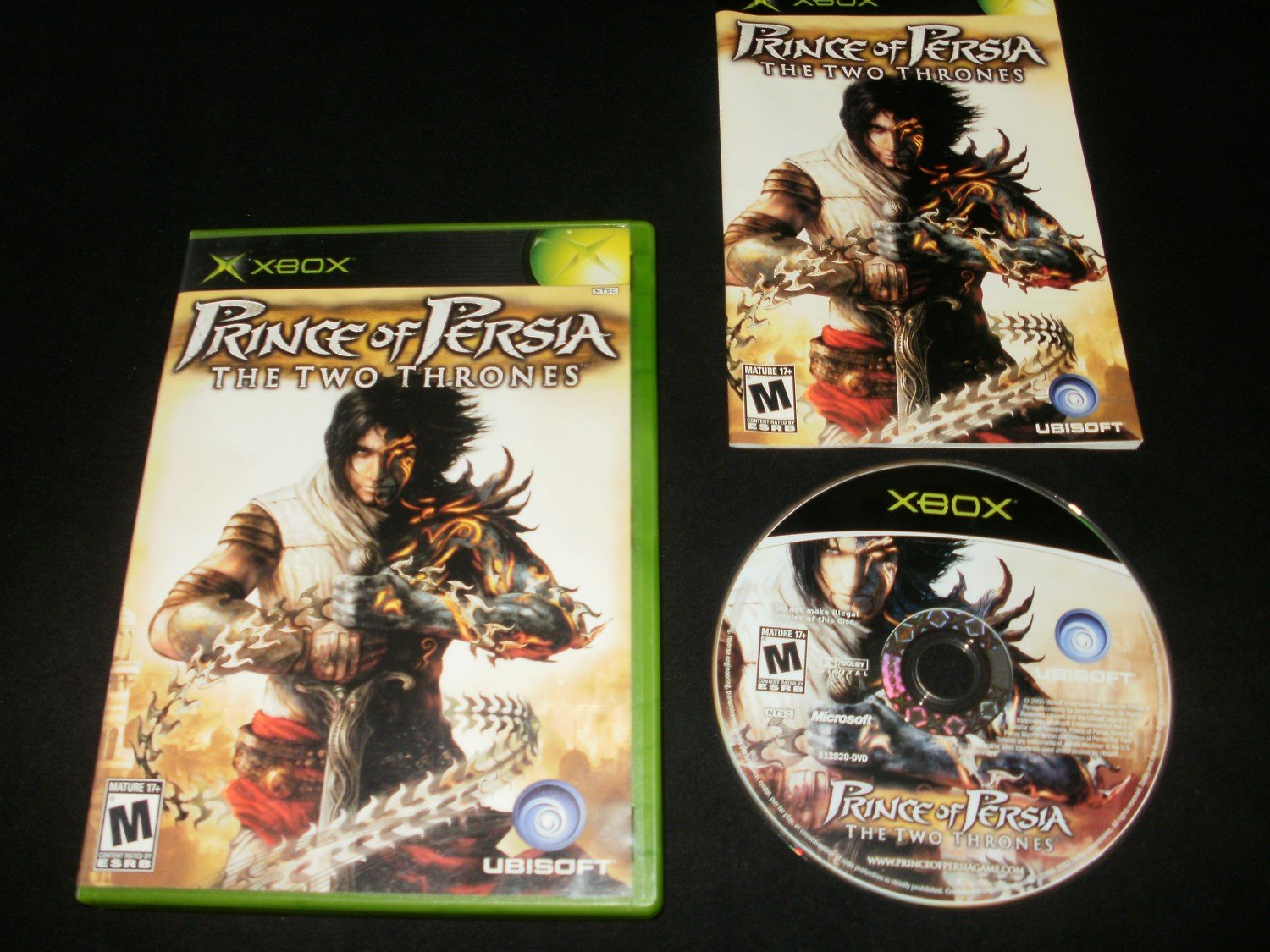 Prince of Persia The Two Thrones - Microsoft Xbox - Complete CIB
