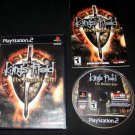 King's Field The Ancient City - Sony PS2 - Complete CIB