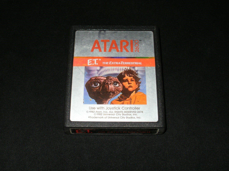 ET the Extra Terrestrial - Atari 2600
