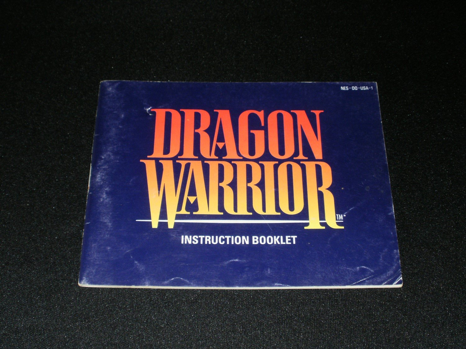 Dragon Warrior - Nintendo NES - Manual Only