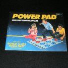 NES Power Pad - Nintendo NES - Manual Only