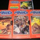 Captain Power VHS Set - 1987 Mattel - Captain Power TV Interactive System