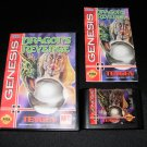 Dragon's Revenge - Sega Genesis - Complete CIB
