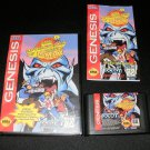 Adventures of Mighty Max - Sega Genesis - Complete CIB - ESRB Rerelease