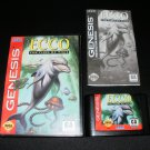 Ecco The Tides of Time - Sega Genesis - Complete CIB - Original 1994 Release