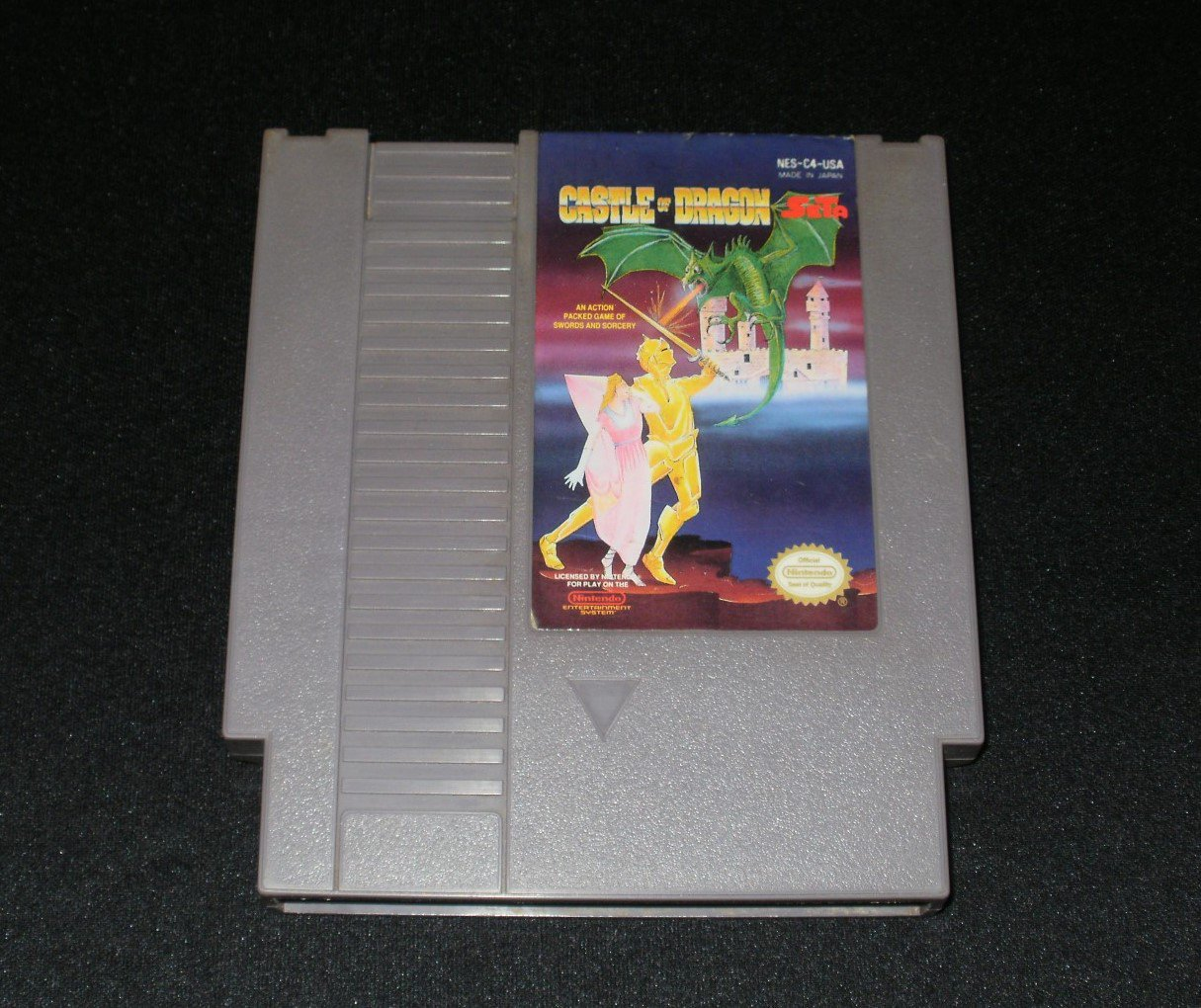 Castle of Dragon - Nintendo NES