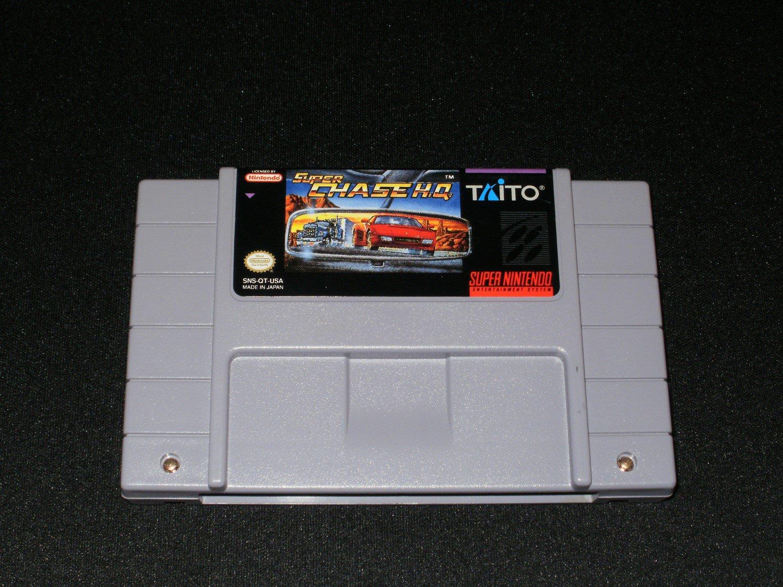 Super Chase HQ - SNES Super Nintendo