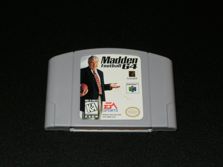 Madden Football 64 - N64 Nintendo