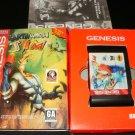 Earthworm Jim - Sega Genesis - Complete CIB - Accolade Ballistic 1996 Rerelease