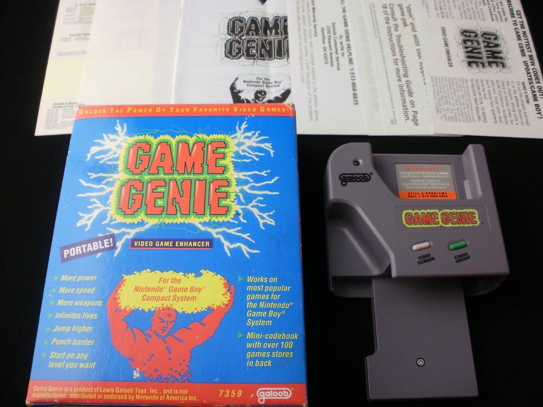 Game Genie - Nintendo Gameboy - Complete CIB