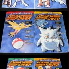 Pokemon Power - Complete 6 Issue Set - Rare