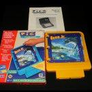 Ecco Jr & The Great Ocean Treasure Hunt - Sega Pico - Complete CIB - Rare