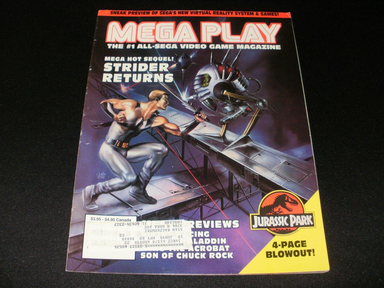 Mega Play Magazine - August 1993 - Volume 4 - Number 4