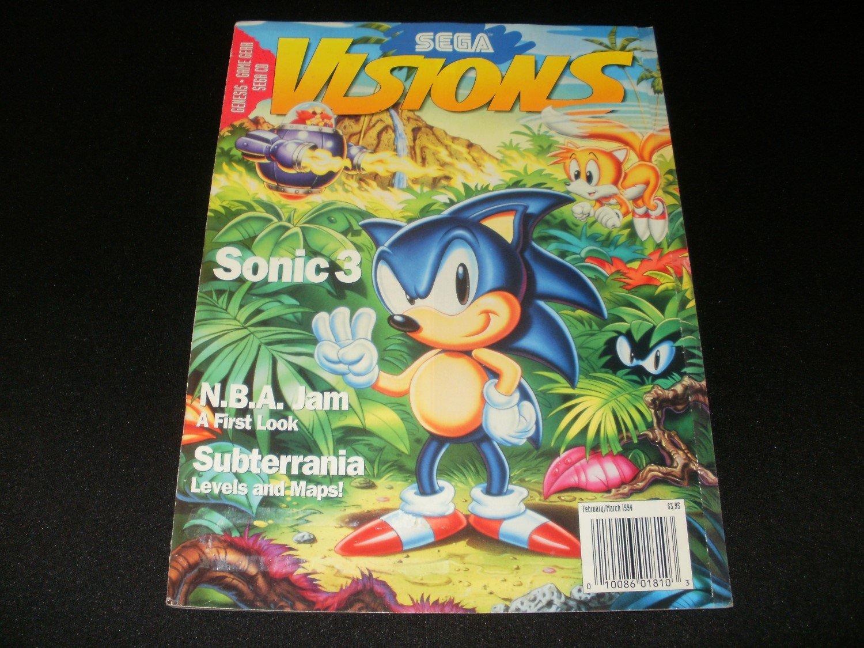 Sega Visions Magazine - February, March 1994