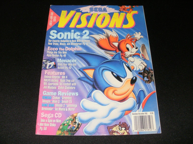 Sega Visions Magazine - November, December 1992