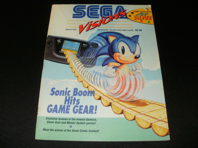 Sega Visions Magazine - Winter 1991 - Volume 1, Issue 7