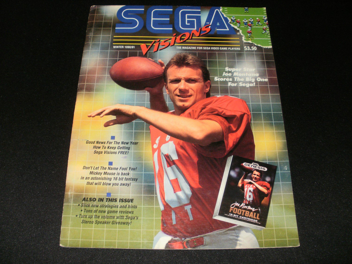 Sega Visions Magazine - Winter 1990 - Volume 1, Issue 3