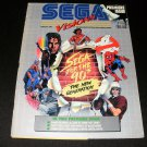 Sega Visions Magazine - Premiere Issue - June, July 1990 - Trading Cards Included
