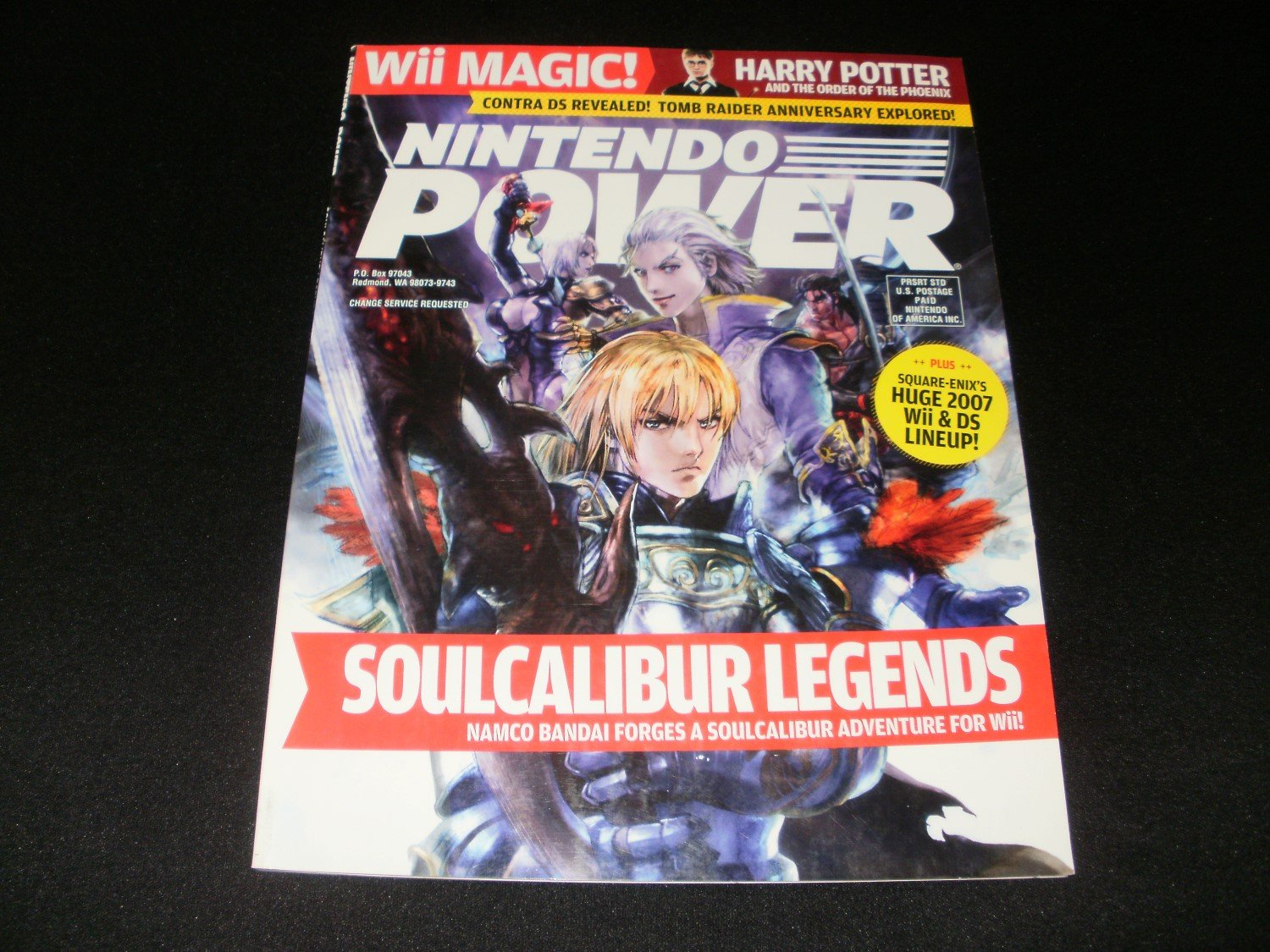 Nintendo Power - Issue No. 218 - August, 2007