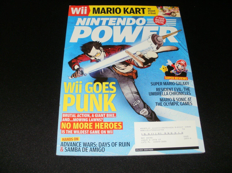 Nintendo Power - Issue No. 223 - Holiday, 2007