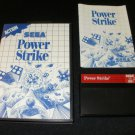 Power Strike - Sega Master System - Complete CIB - Rare - Sega for the 90s Version