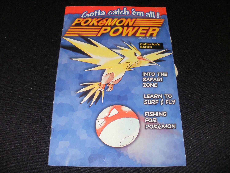 Pokemon Power - Volume 4 - November, 1998