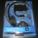 USB Headset - Sony PS2 - Brand New Factory Sealed