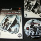 Medal of Honor European Assault - Sony PS2 - Complete CIB - Medal of Honor Collection Version