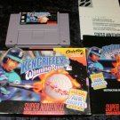 Ken Griffey Jr's Winning Run - SNES Super Nintendo - Complete CIB