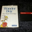 Wonder Boy - Sega Master System - With Box