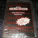 Sega Genesis Manual & Original Paperwork - New - No Console Included