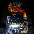 Secret of Evermore Poster - Nintendo Power May, 1995 - Never Used