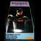 Batman Returns Poster - Nintendo Power November, 1992 - Never Used