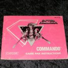 Commando - Nintendo NES - Manual Only