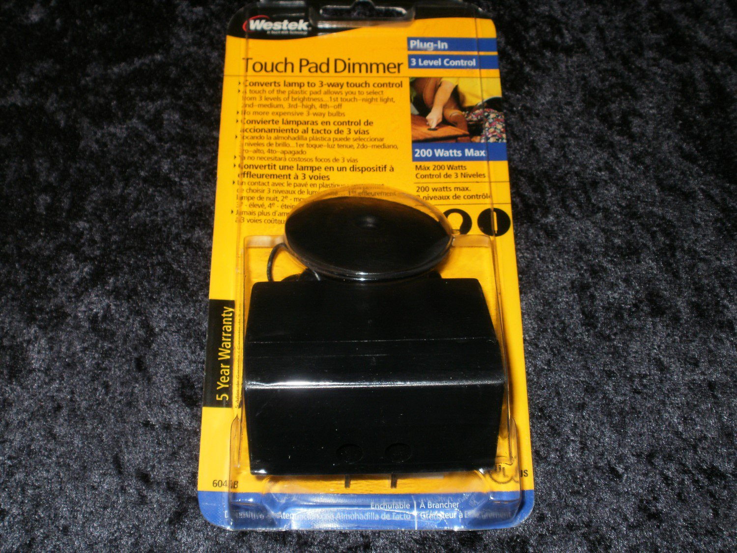 Touch Pad Dimmer - Westek 2006 - Brand New