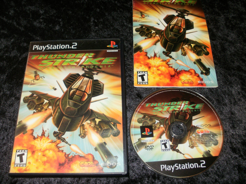 Thunderstrike Operation Phoenix - Sony PS2 - Complete CIB