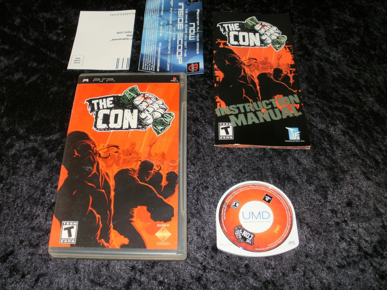 The Con - Sony PSP - Complete CIB
