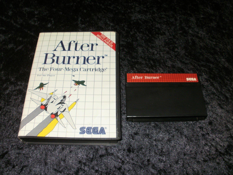 After Burner - Sega Master System - With Box - PAL Release