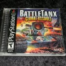 BattleTanx Global Assault - Sony PS1 - Complete CIB