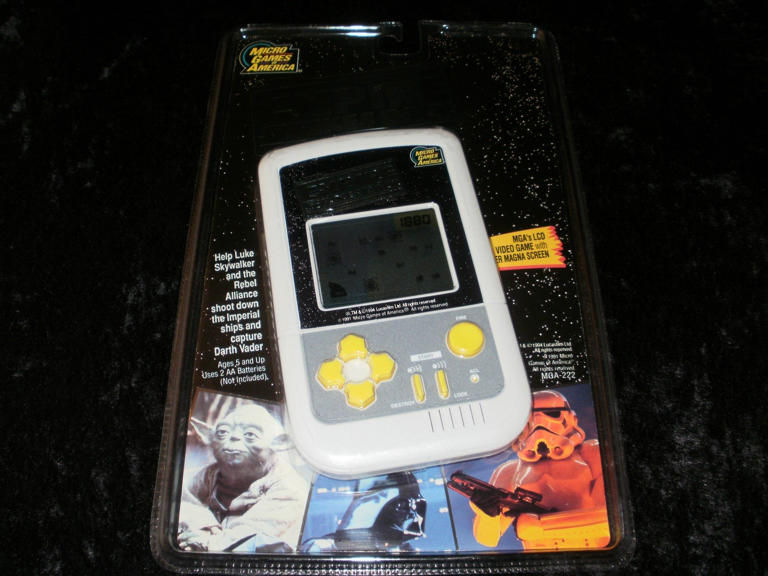 Star Wars The Empire Strikes Back - Vintage Handheld - Micro Games of America 1994 - Brand New