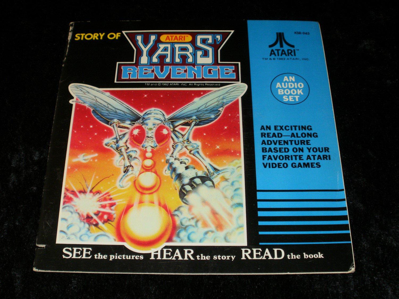 Story of Atari Yars' Revenge - 33 1/3 RPM Record - Kid Stuff Records 1982 - Rare