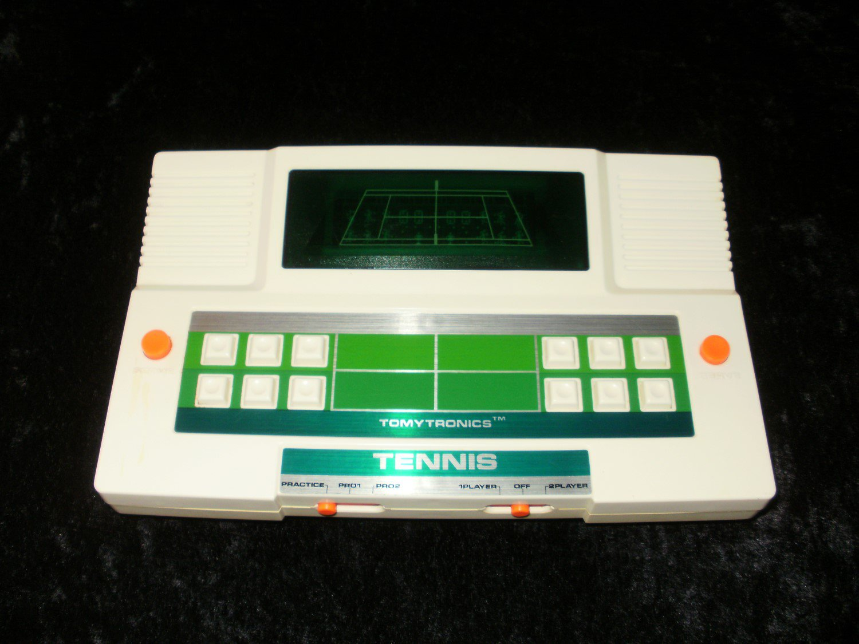 Electronic Tennis - Vintage Handheld - Tomy 1980