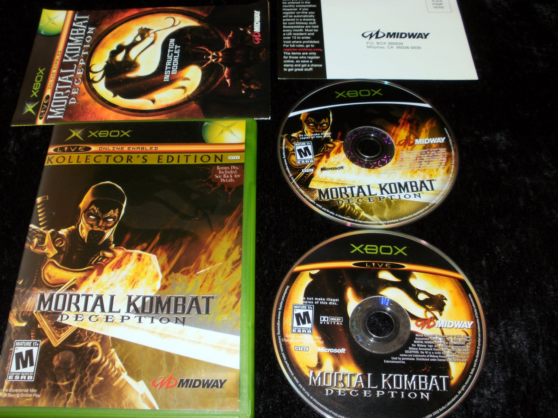 Mortal Kombat Deception - Scorpion Kollector's Edition - Xbox - Complete CIB