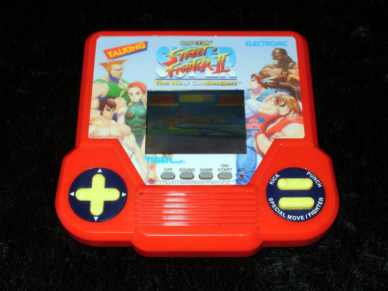 Super Street Fighter II - Vintage Handheld - Tiger Electronics 1994 - Refurbished