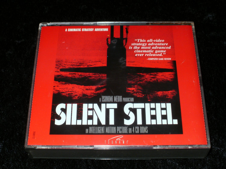 Silent Steel - 1995 Tsunami Media - IBM PC - With Manual