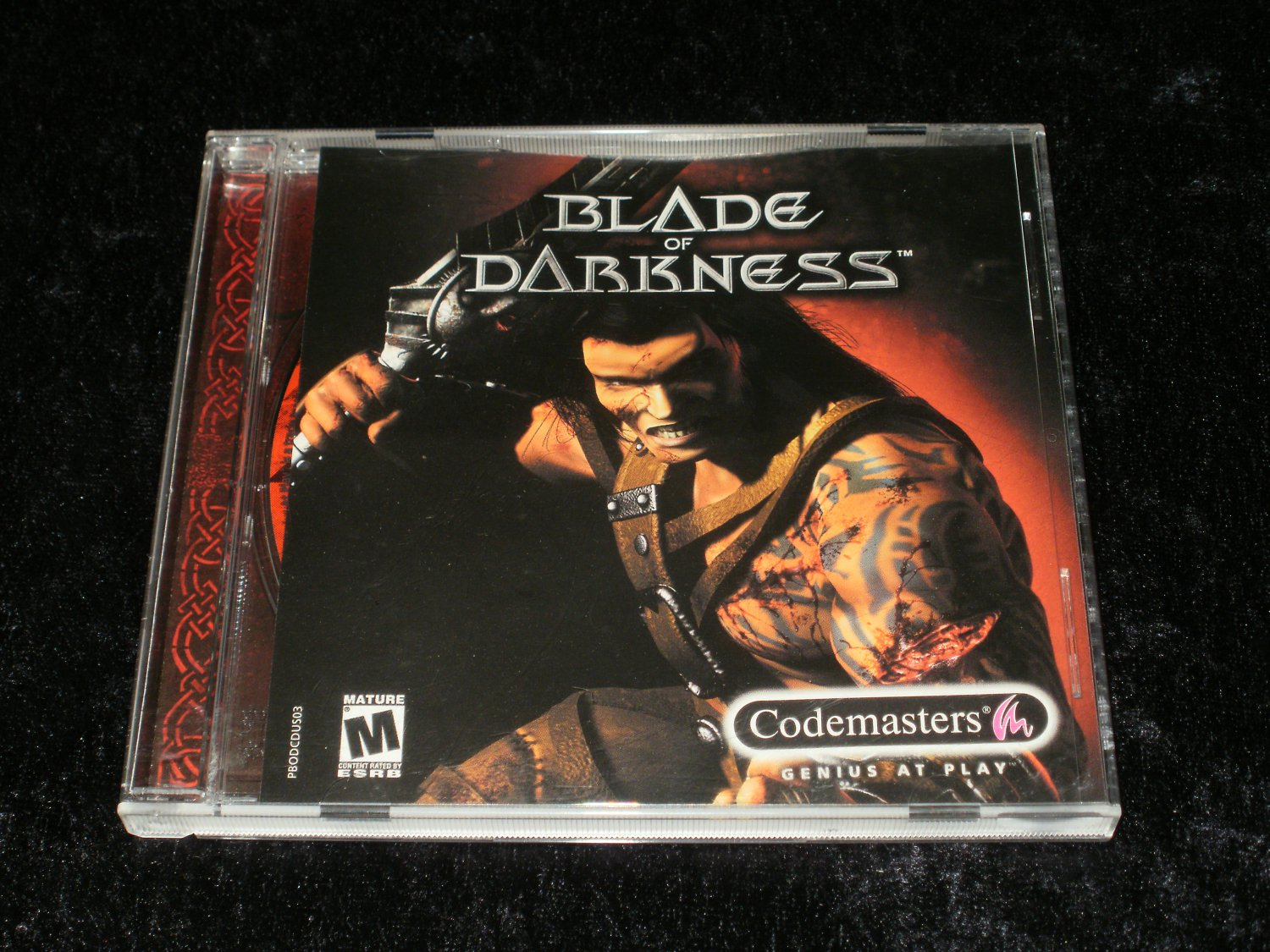 Blade of Darkness - 2001 Codemasters - IBM PC - With Case