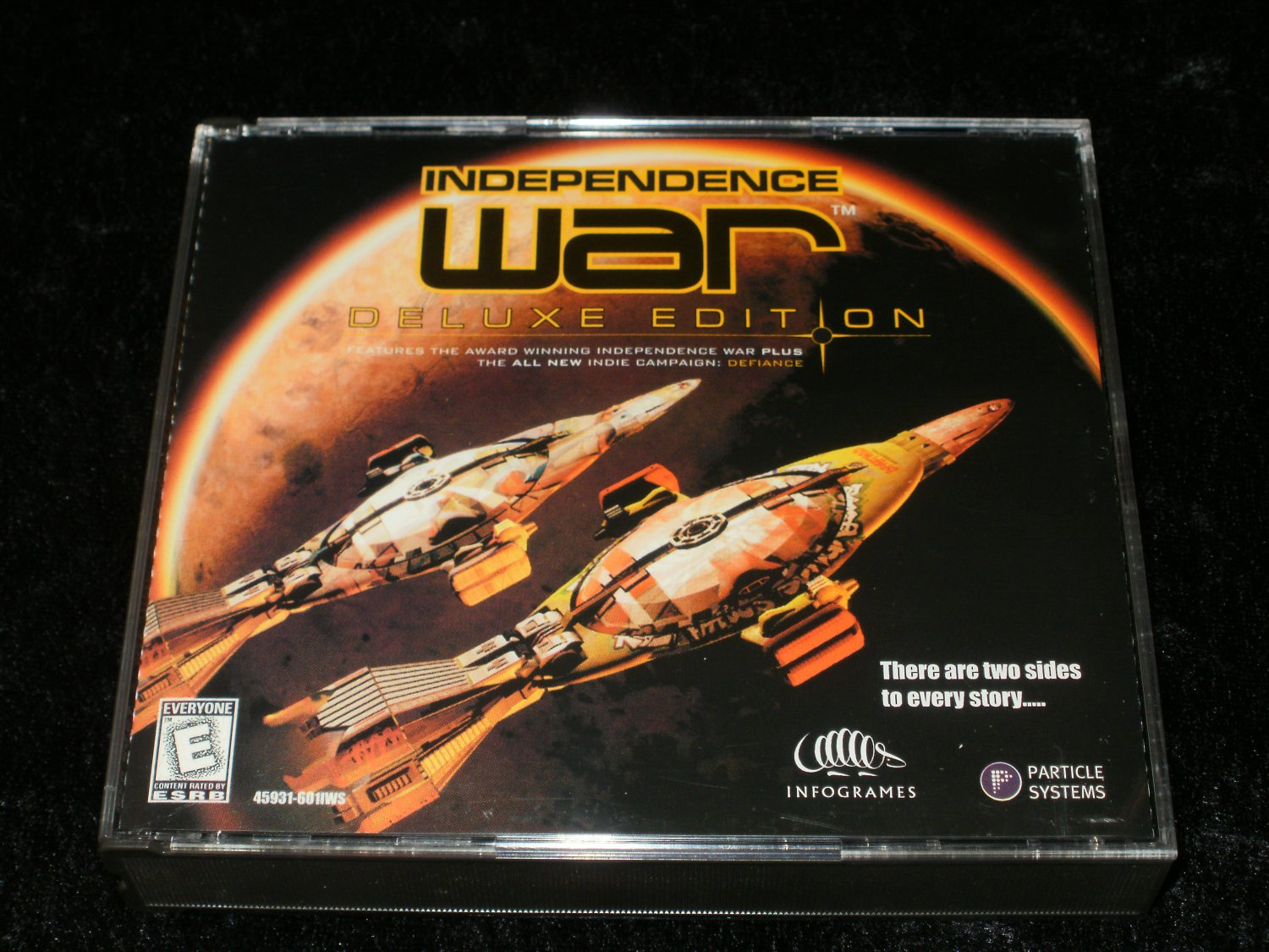 Independence War Deluxe Edition - 1999 Infogrames - IBM PC - With Case
