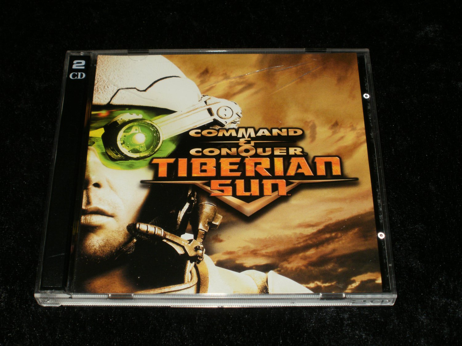 Command & Conquer Tiberian Sun - IBM PC - 1999 Westwood Studios - With Case & Manual