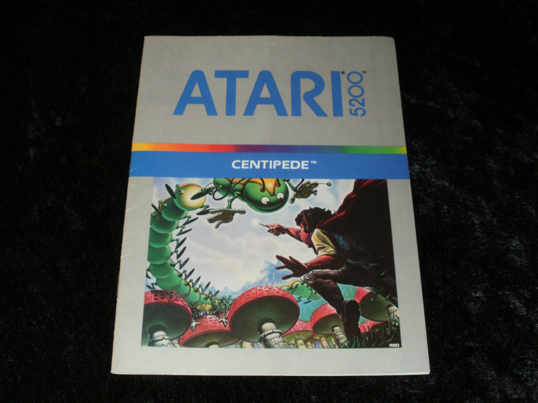 Centipede - Atari 5200 - Manual Only